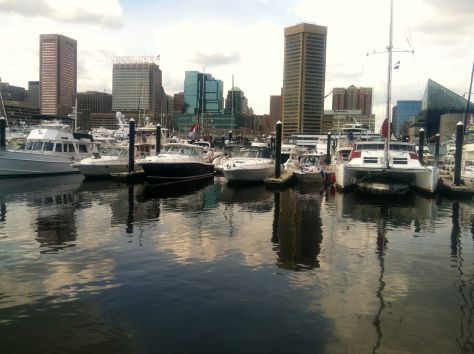 Baltimore's Inner Harbor -- Sailabration (photo by dorothyadele)