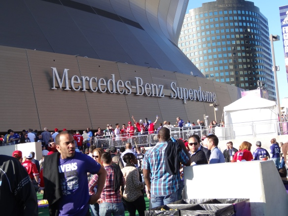 Mercedes-Benz Superdome Super Bowl XLVII