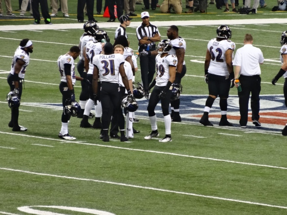 Super Bowl XLVII Baltimore Ravens and Officials