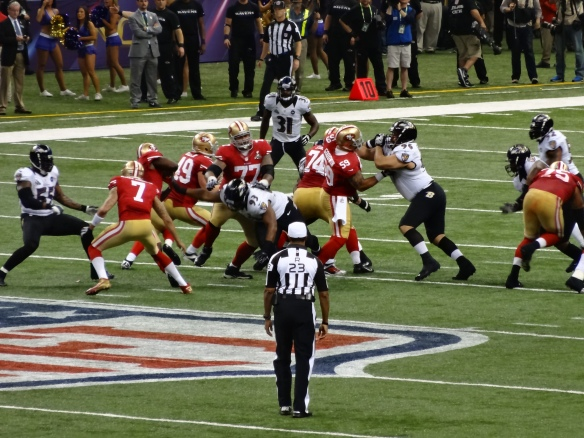 Super Bowl XLVII  Baltimore Ravens and San Francisco 49ers