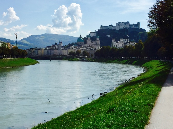 Old Town Salzburg is a UNESCO Worlds Heritage site.
